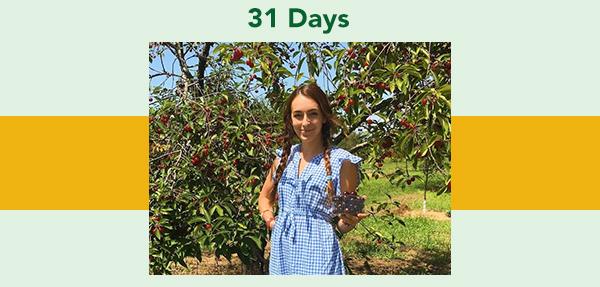 31 days, image of Mariette Mayerson