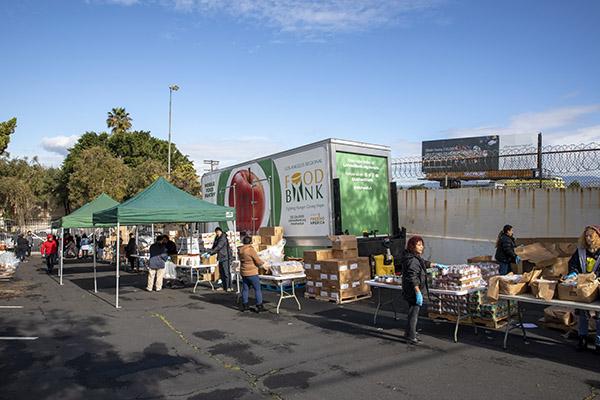 Mobile Food Pantry Distribution - Hospitality 1